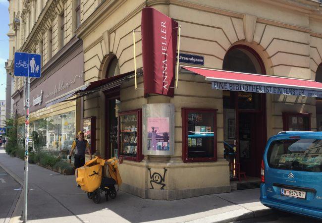 Auswärtsspiel. Heute: Buchhandlung Anna Jeller, Wien